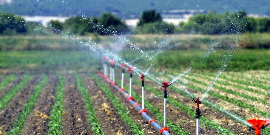 Bölgede sulu tarım ekonomiye 2 milyar 888 milyon TL kattı