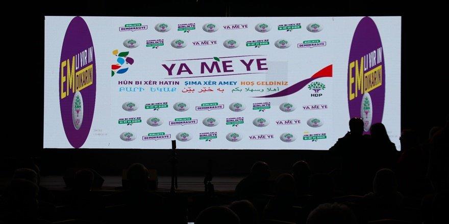 HDP Sine-i Millet demedi, erken seçim çağrısı yaptı