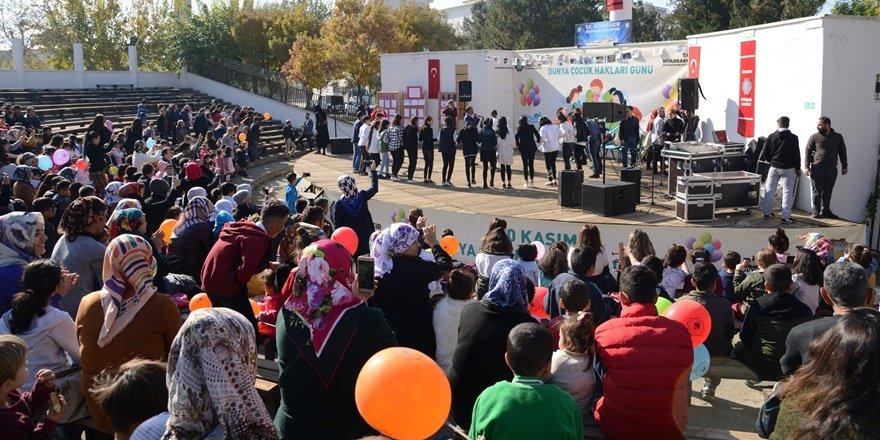 Diyarbakır'da 20 Kasım Dünya Çocuk Hakları Günü kutlaması