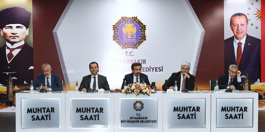 """""""Yeşil Diyarbakır için muhtarlara harcama limiti"""""""