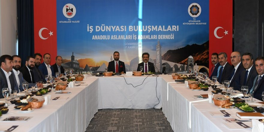 Vali Güzeloğlu ASKON yönetimi ile buluştu