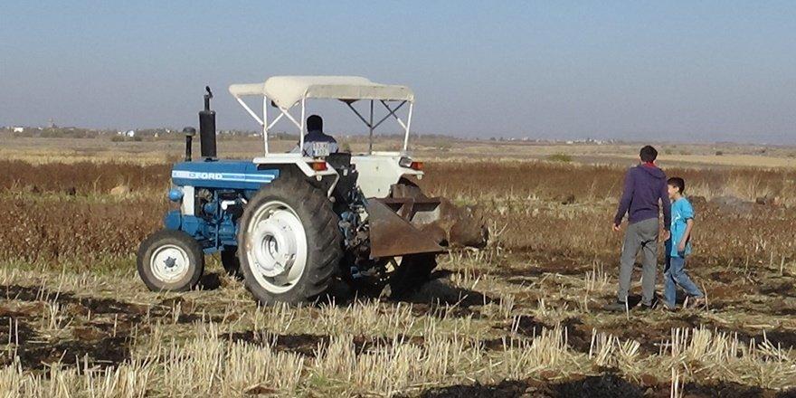 VİDEO - Diyarbakır'da ekim zamanı