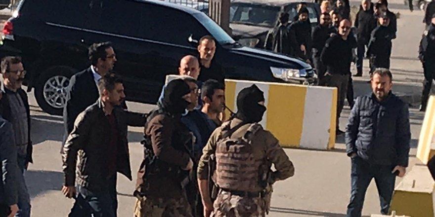 Batman'da adliye önündeki silahlı kavgada tutuklama
