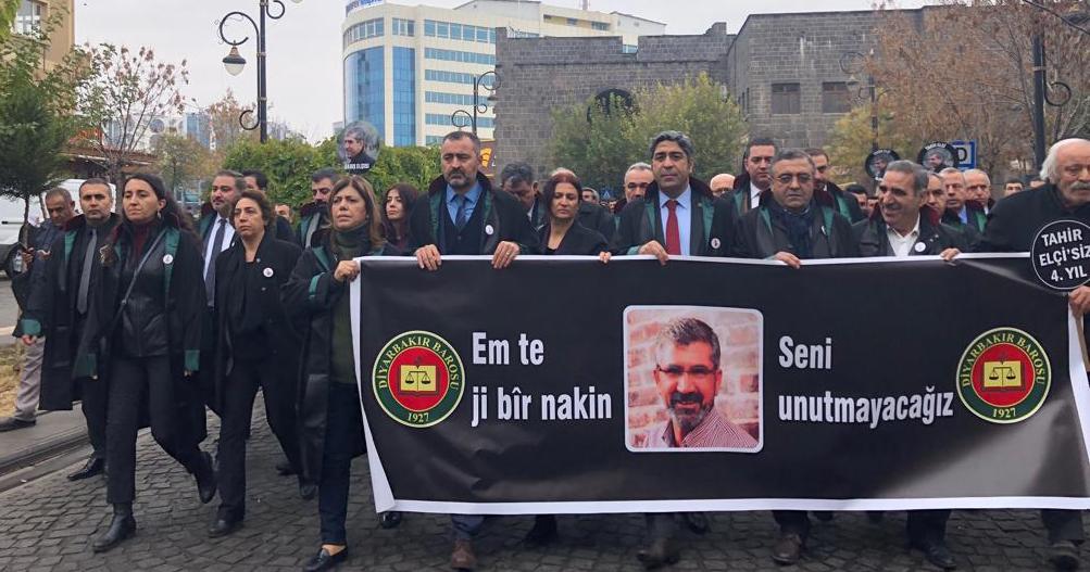 Avukatlar Tahir Elçi için yürüyor: Failleri bulun