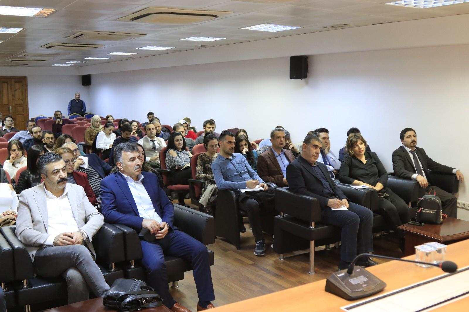 DTSO üyelerine 'kişisel verilerin korunması' semineri verildi