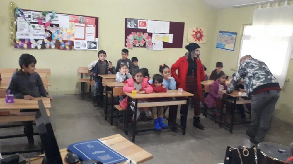 Hazro'da görev yapan öğretmenin başarısı