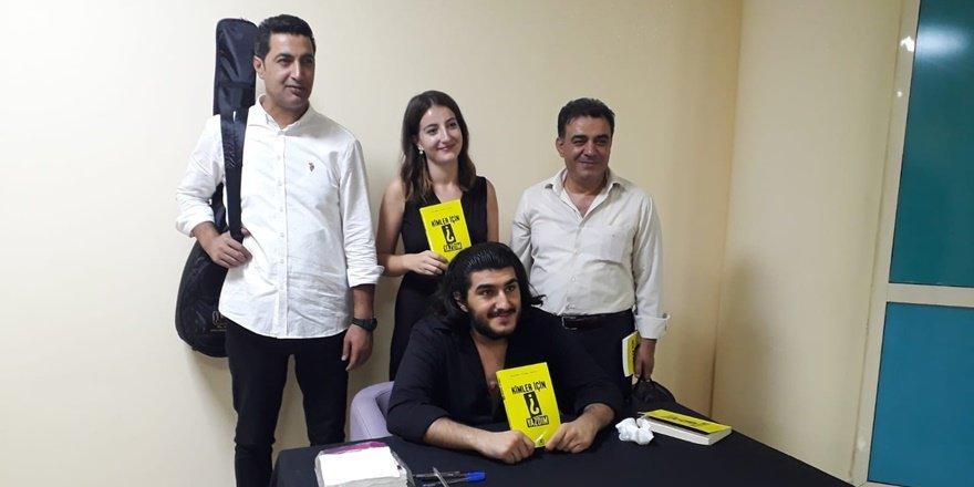 Diyarbakırlı üniversitelinin kitabı Alanya'da ders konusu