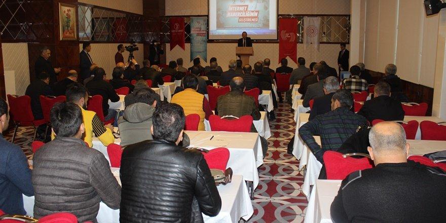 """BİK'nun """"Çevrimiçi Gazetecilik İstişare ve Değerlendirme"""" çalıştayı başladı"""