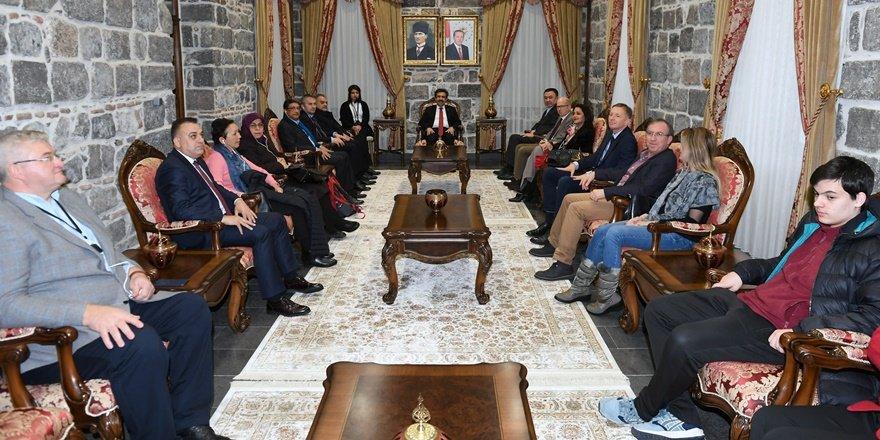 Büyükelçiler Diyarbakır'ı geziyor