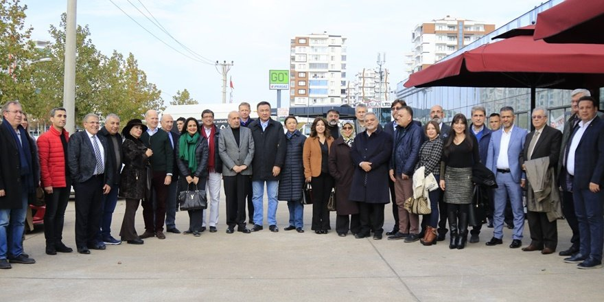 DTSO, İş insanlarıyla Büyükelçileri buluşturdu