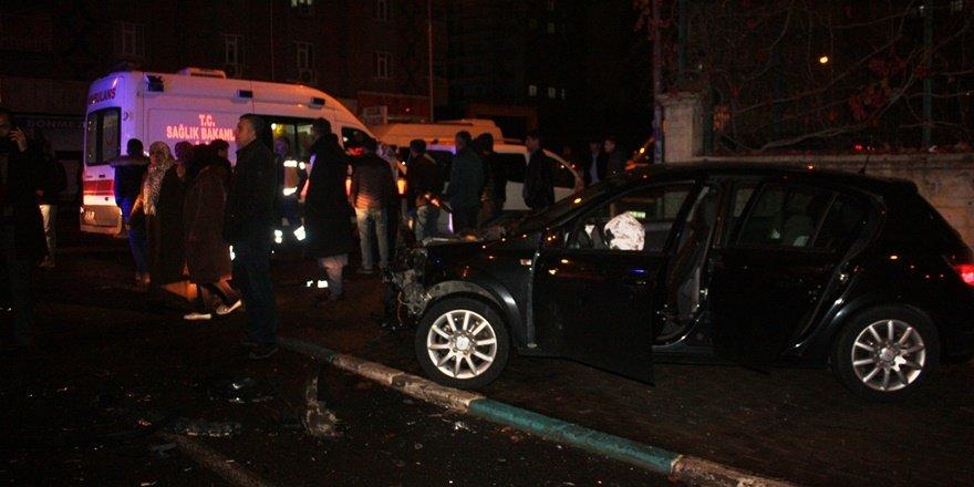 VİDEO - Diyarbakır'da alkollü sürücü: Hem suçlu hem güçlü