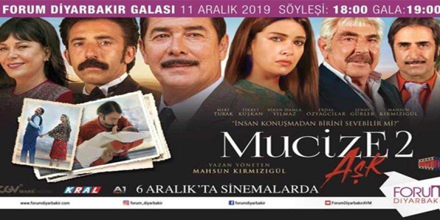 Mucize Aşk 2'nin galası Diyarbakır'da Yapılacak