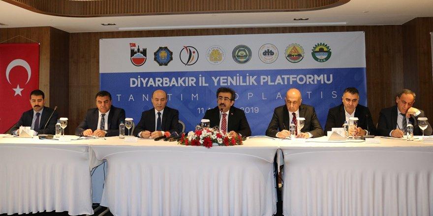 """Diyarbakır """"İl Yenilik Platformu"""" kuruldu"""