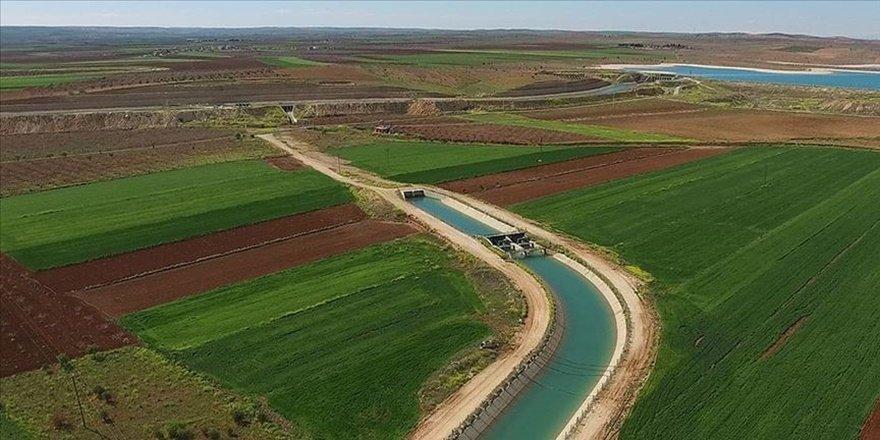 Diyarbakır'da tarımsal sulama