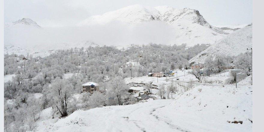 Tunceli'de yoğun kar yağışı: 71 köy yolu ulaşıma kapandı