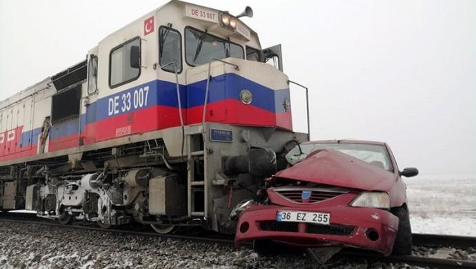 Kars'ta feci kaza: 1'i çocuk 3 kişi yaşamını yitirdi