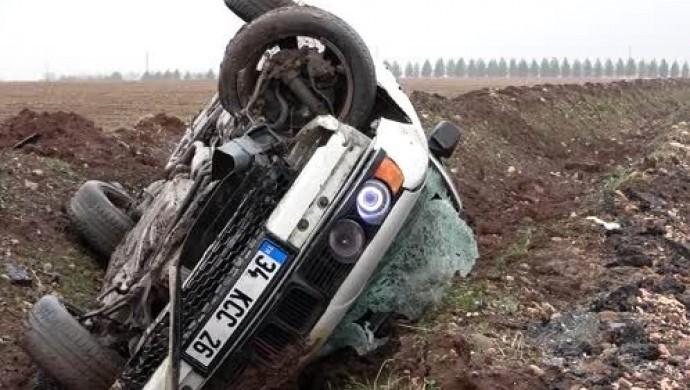 Hazro yakınlarında trafik kazası: 8 kişi yaralandı
