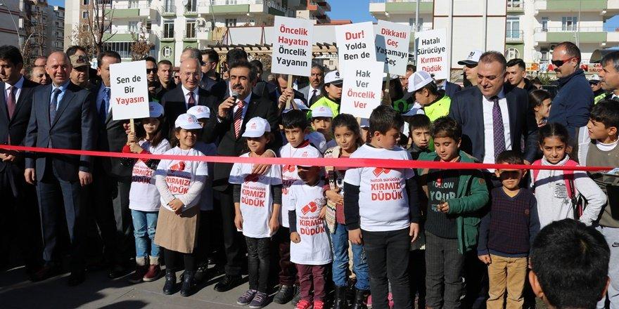 Diyarbakır'da trafik eğitim parkı açılışı