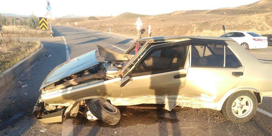 Batman'da lastiği fırlayan araç takla attı: 1 yaralı
