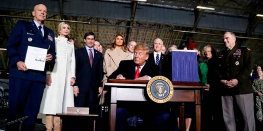 ABD Başkanı Trump Kongre'nin Türkiye'ye yaptırımlarını imzaladı