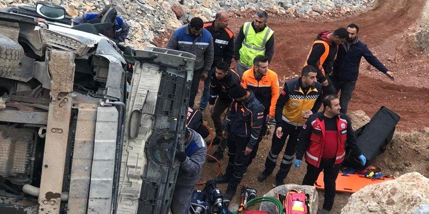 Siirt'teki kazaya AFAD müdahale etti