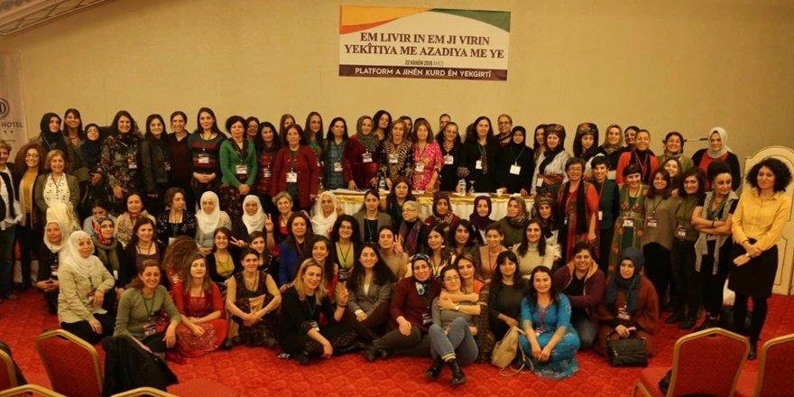 Birleşik Kürt Kadın Platformu çalıştayında birlik mesajı