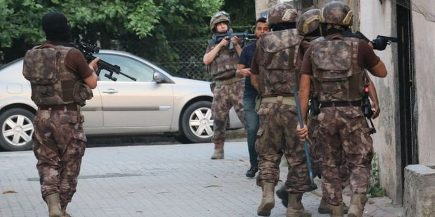Muş'ta DEAŞ'a operasyon: 9 gözaltı