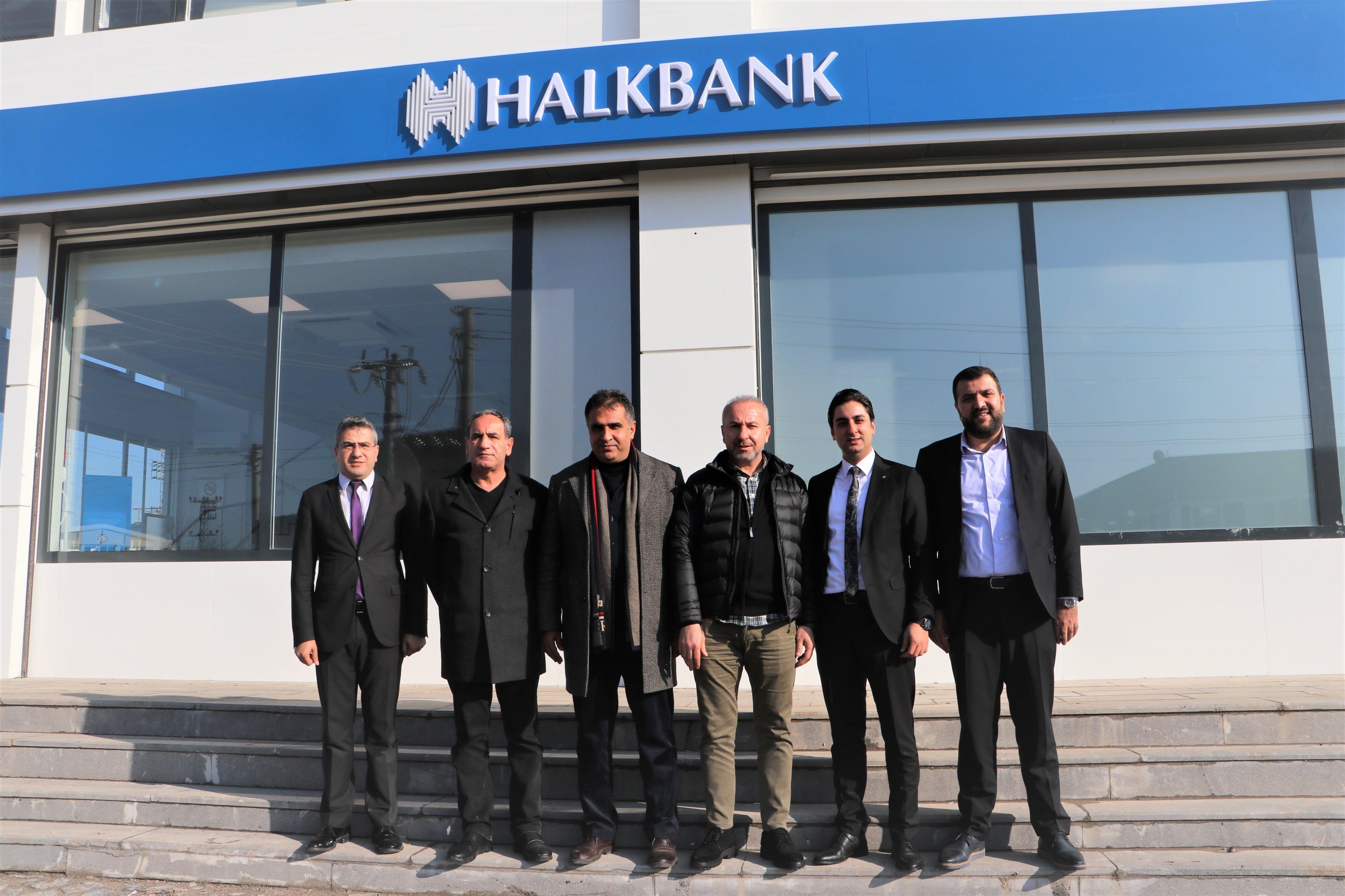 Halkbank Diyarbakır OSB Şubesi hizmete başladı