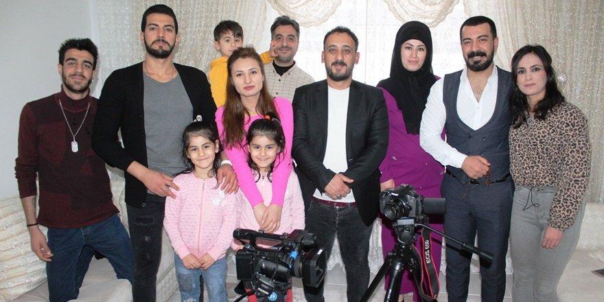 Diyarbakır'da birbirini tanımayan 55 genç dizi setinde buluştu