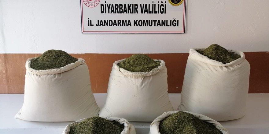 VİDEO - Diyarbakır Lice'de narkotik operasyonu