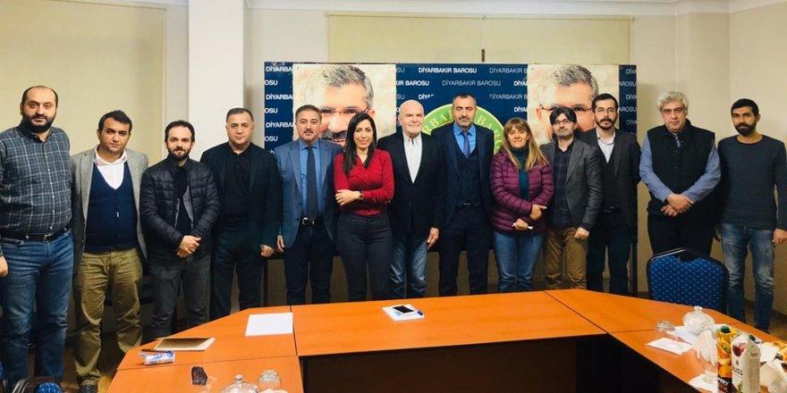BM İnsan Hakları Özel Raportörü Diyarbakır'da STK'larla görüştü