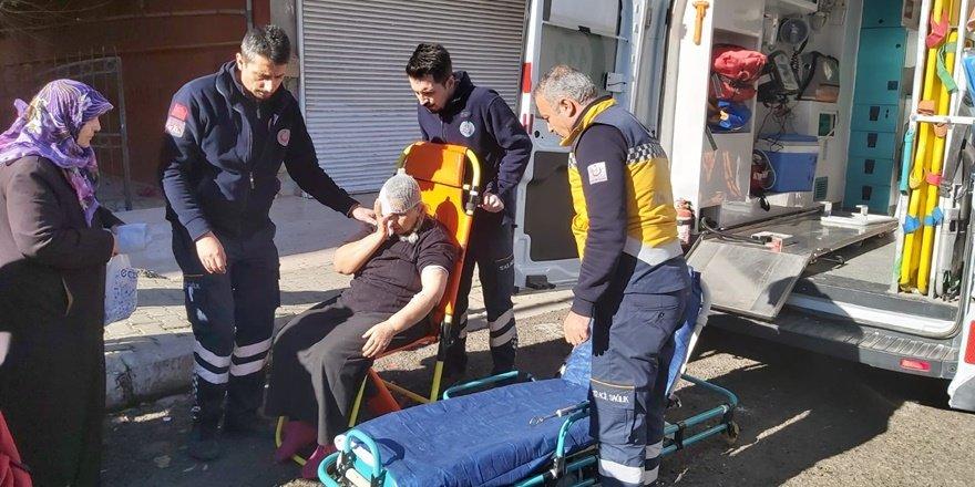 Diyarbakır'da mangal yakarken az kalsın canından oluyordu