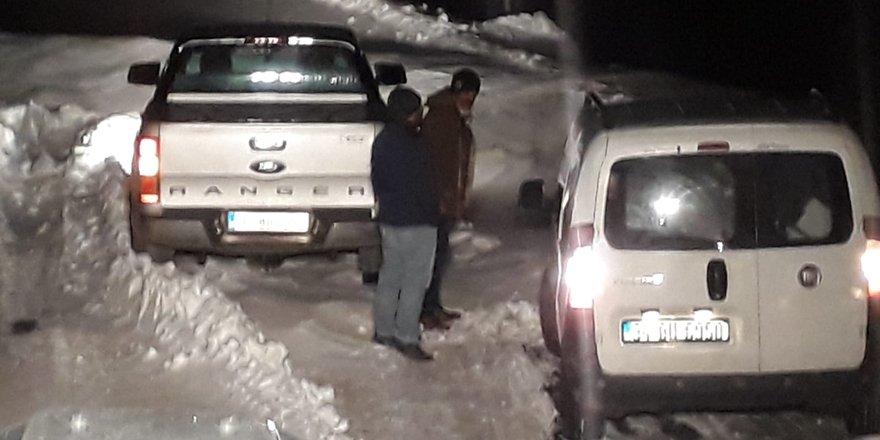 Siirt'te karda mahsur kalan 11 kişiye ulaşıldı