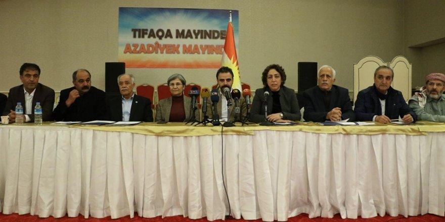 Diyarbakır'daki ulusal birlik çalıştayı sonuç bildirgesi: Tartışarak yürüyelim
