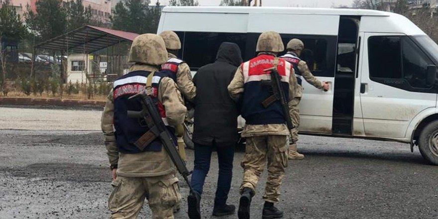 Siirt'te bir sosyal medya gözaltısı