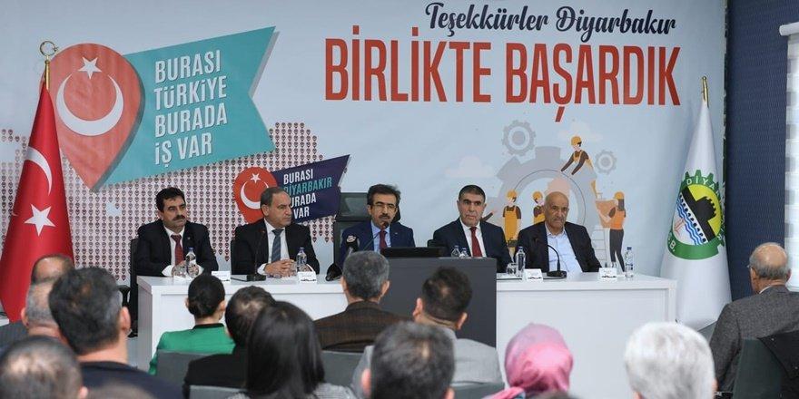 """Diyarbakır OSB """"İl İstihdam Kurulu"""" toplantısı"""
