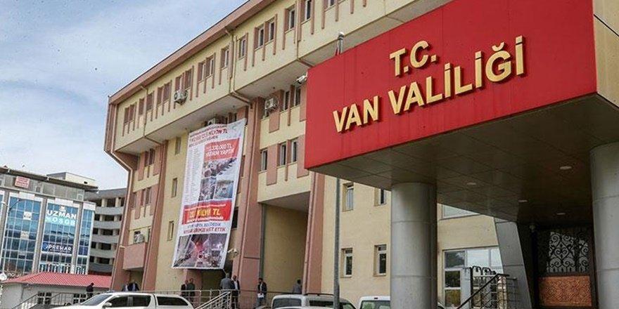 Van'da 15 günlük yasaklamalar serisi sürüyor