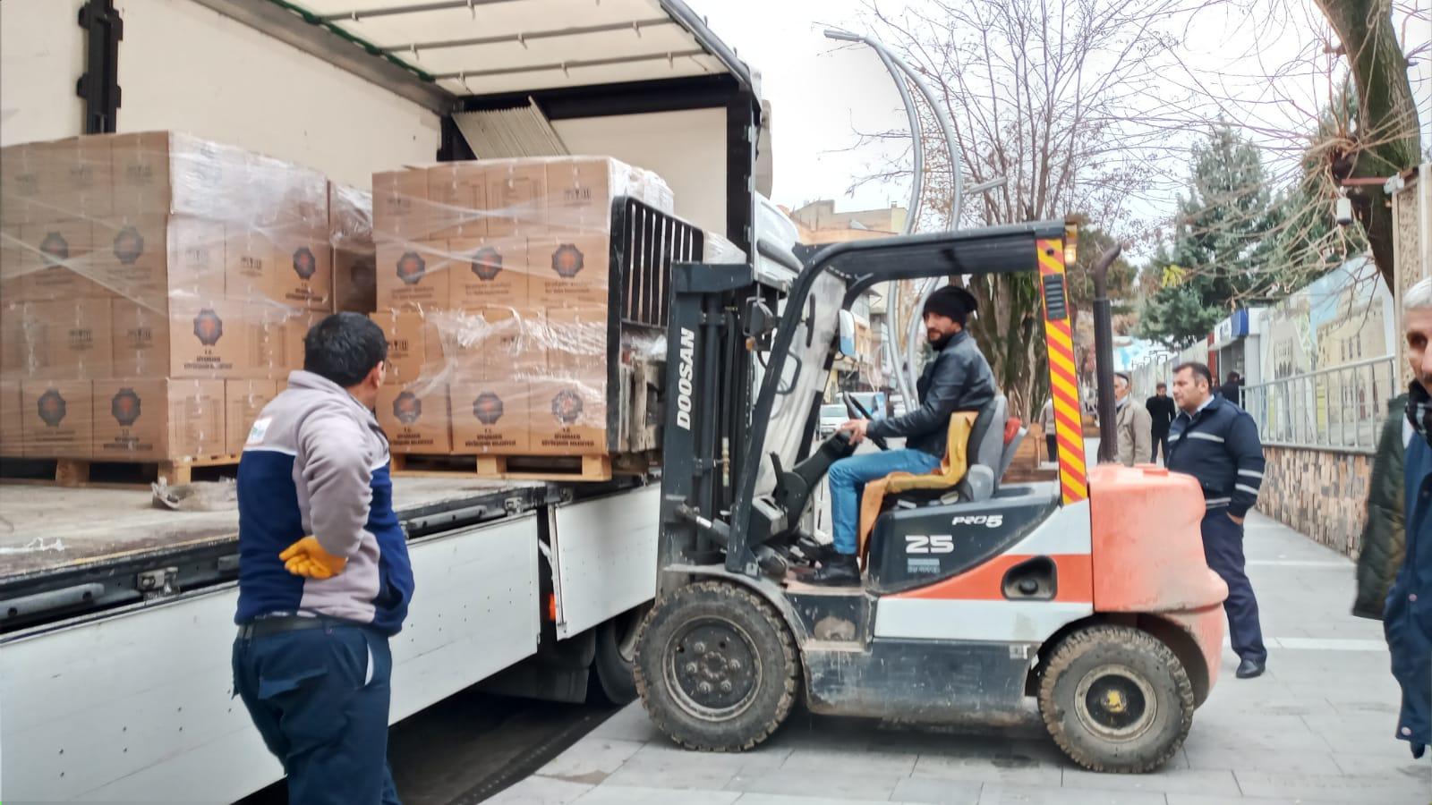 Büyükşehir her ay 42 bin kişiye yardım yapacak