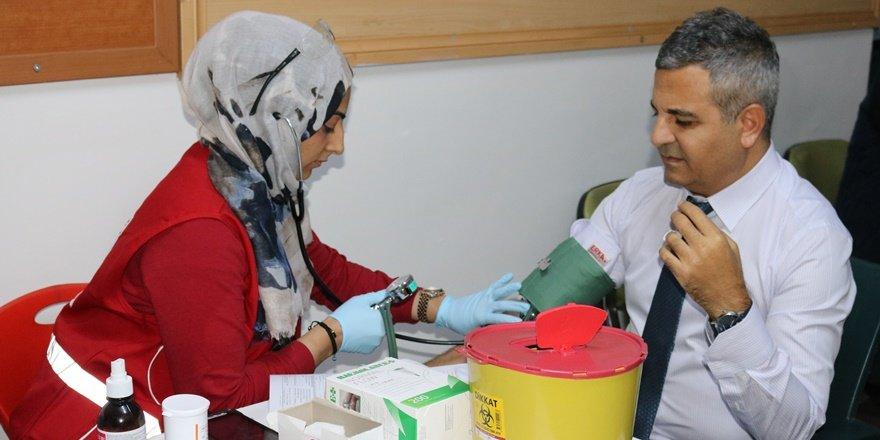 Diyarbakır İl Milli Eğitim Müdürlüğünden kan bağışı seferberliği