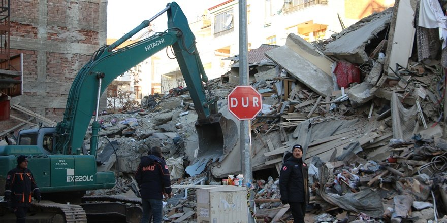 Deprem bölgesinde son durum