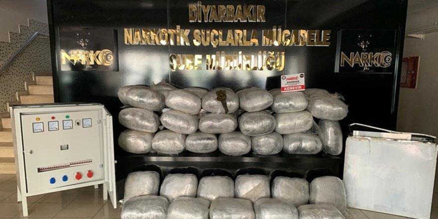 VİDEO - Diyarbakır'da elektrik panosunda uyuşturucu bulundu