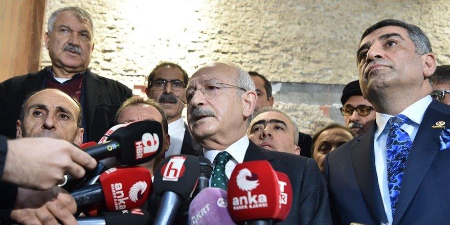 Kılıçdaroğlu: Bu felaketi, acıyı paylaşmak için yüreğimiz gönlümüz bir