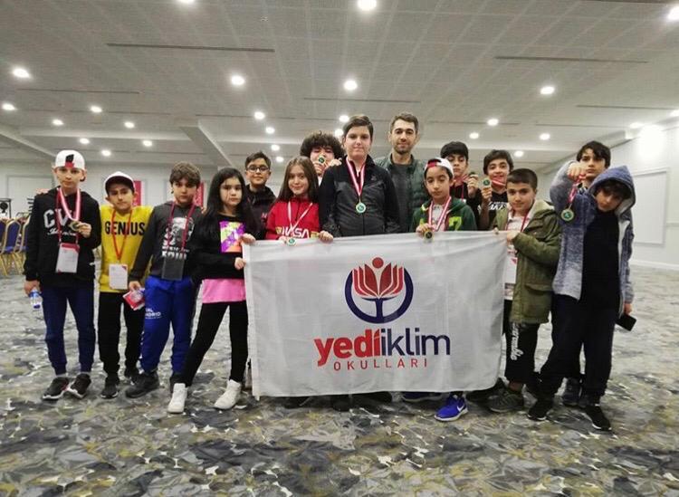 Matematik şampiyonları Diyarbakır'dan