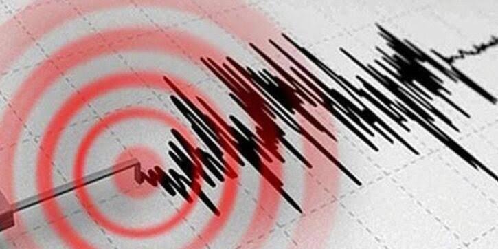 Elazığ'da 3.8 büyüklüğünde deprem