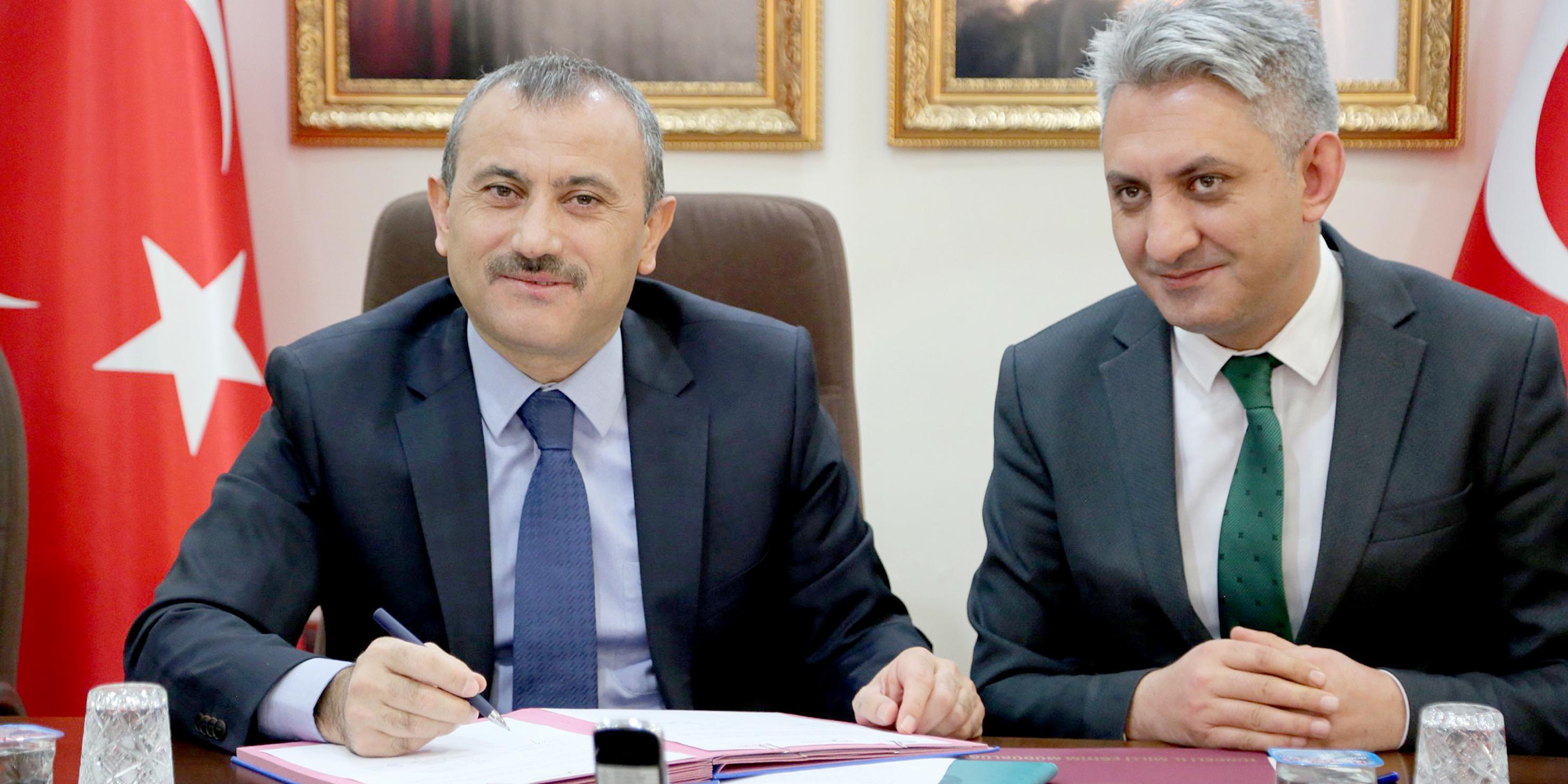 Tunceli'de 11 milyonluk 3 projenin imzası atıldı