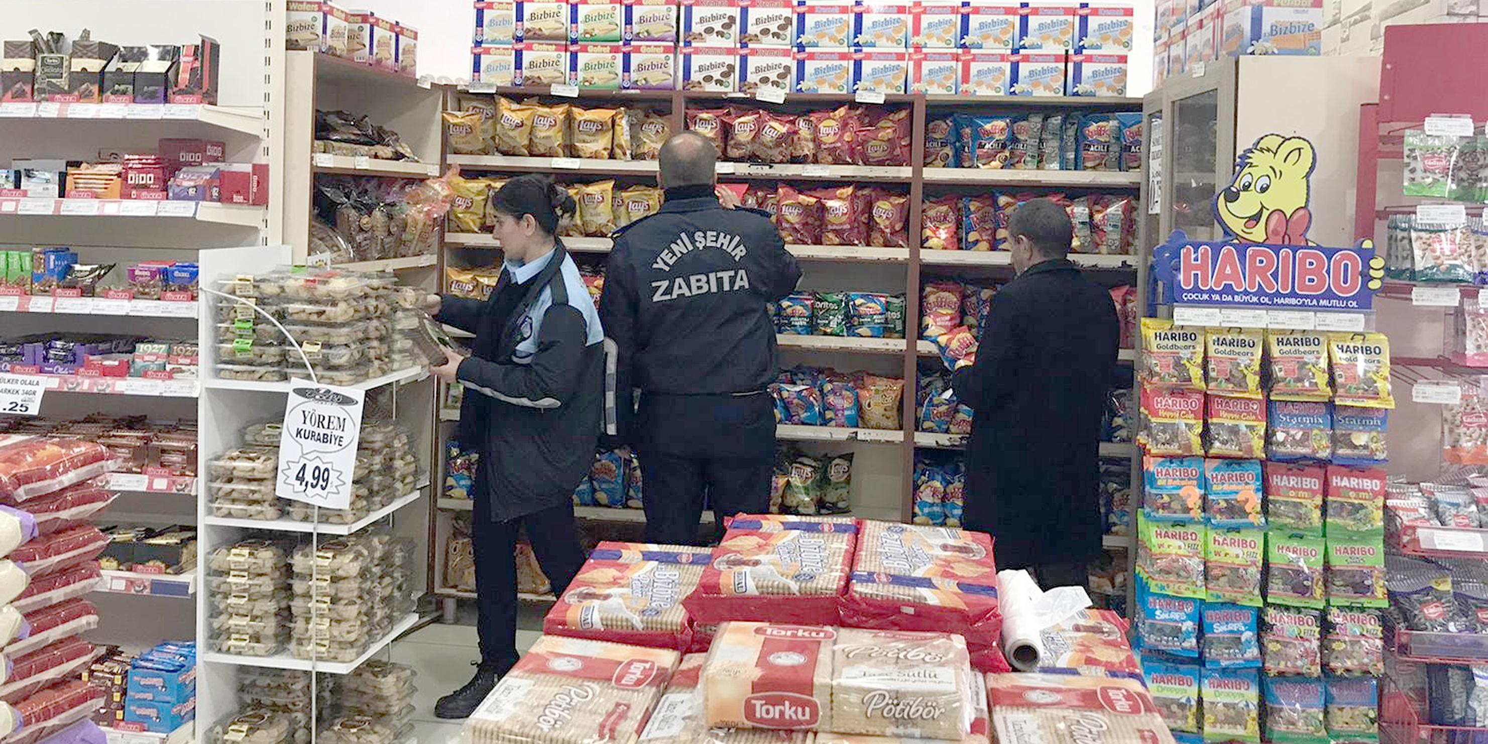 Yenişehir Belediyesinden gıda denetimi