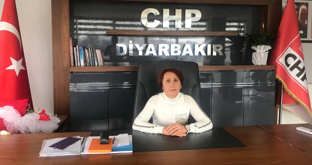 CHP'nin ilk kadın başkanı: Diyarbakır'a hizmet etmek için mücadele edeceğiz