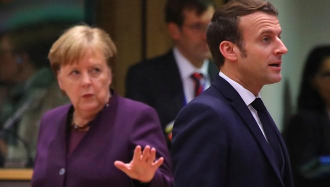 Macron ve Merkel'den 'Dörtlü İstanbul Zirvesi' çağrısı
