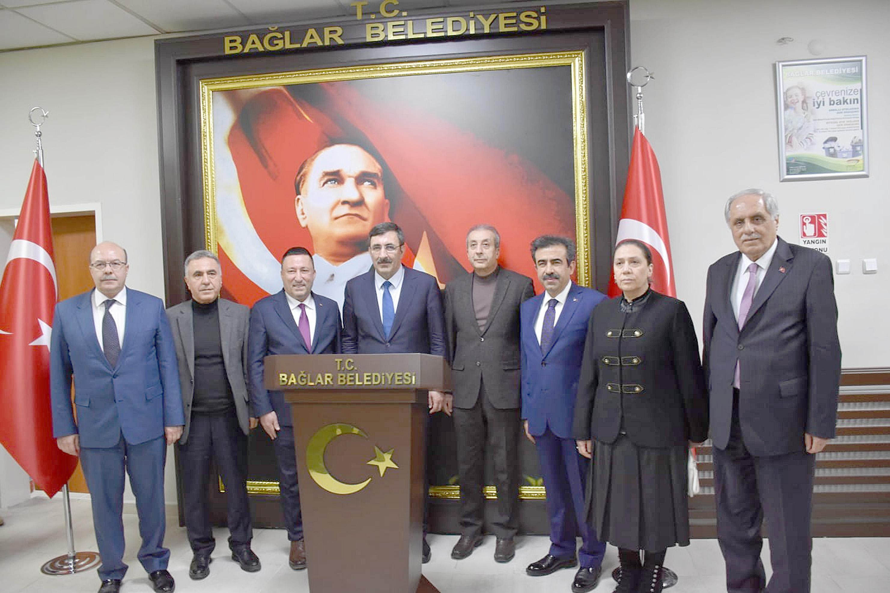 AK Parti Genel Başkan Yardımcısı Yılmaz'dan Başkan Beyoğlu'na ziyaret