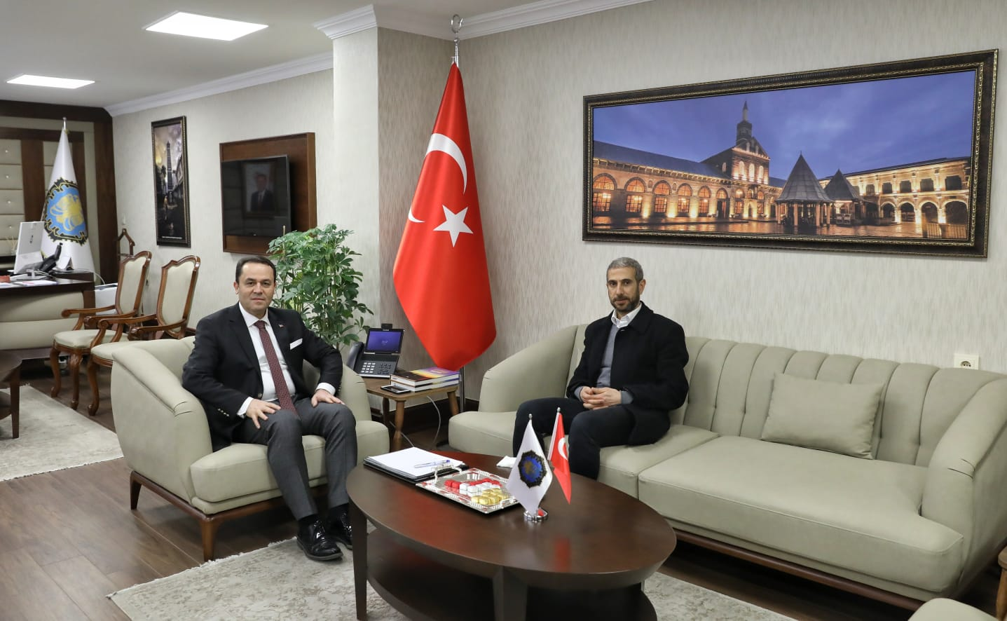Tigris Haber'den Genel Sekreter Eryılmaz'a ziyaret